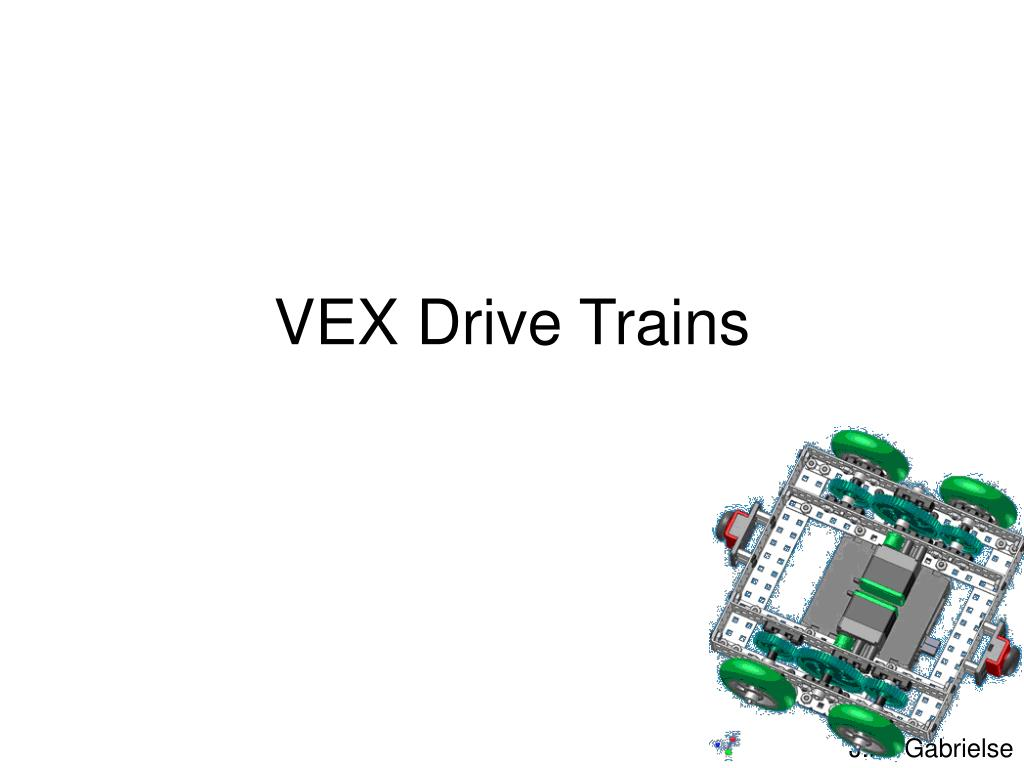 vex drive trains l.