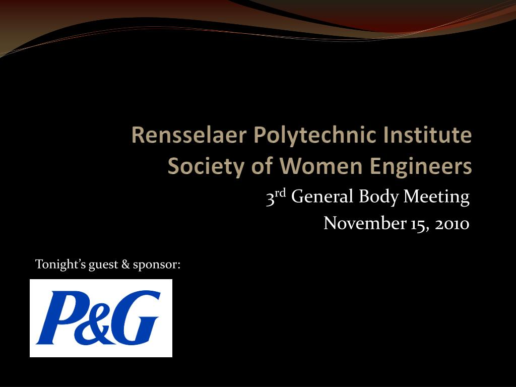 rensselaer polytechnic institute society of women engineers l.
