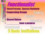 functionalist