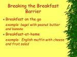 breaking the breakfast barrier55