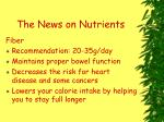 the news on nutrients30