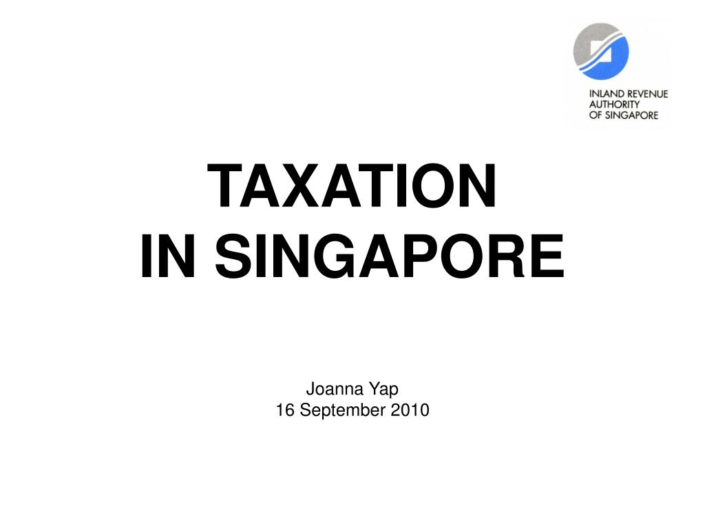 taxation in singapore l.