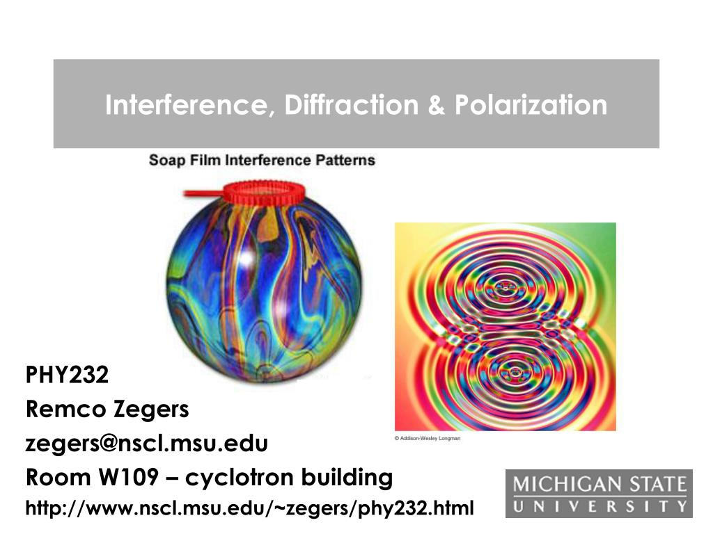 interference diffraction polarization l.