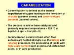 caramelization