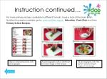 instruction continued22