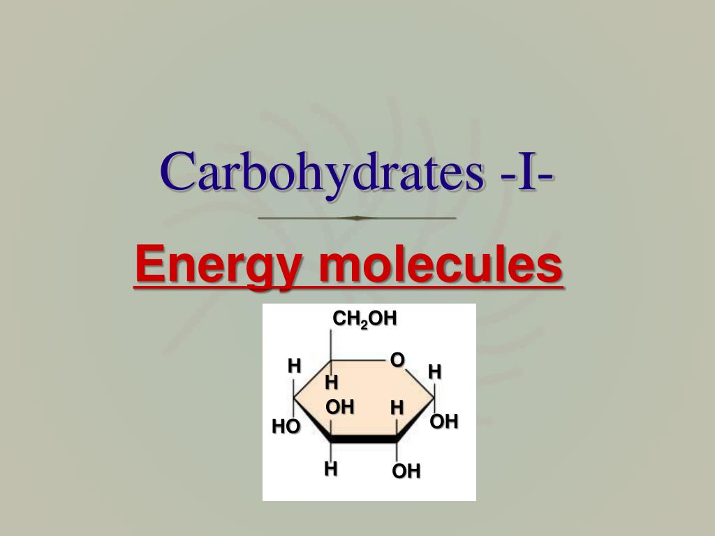 carbohydrates i l.