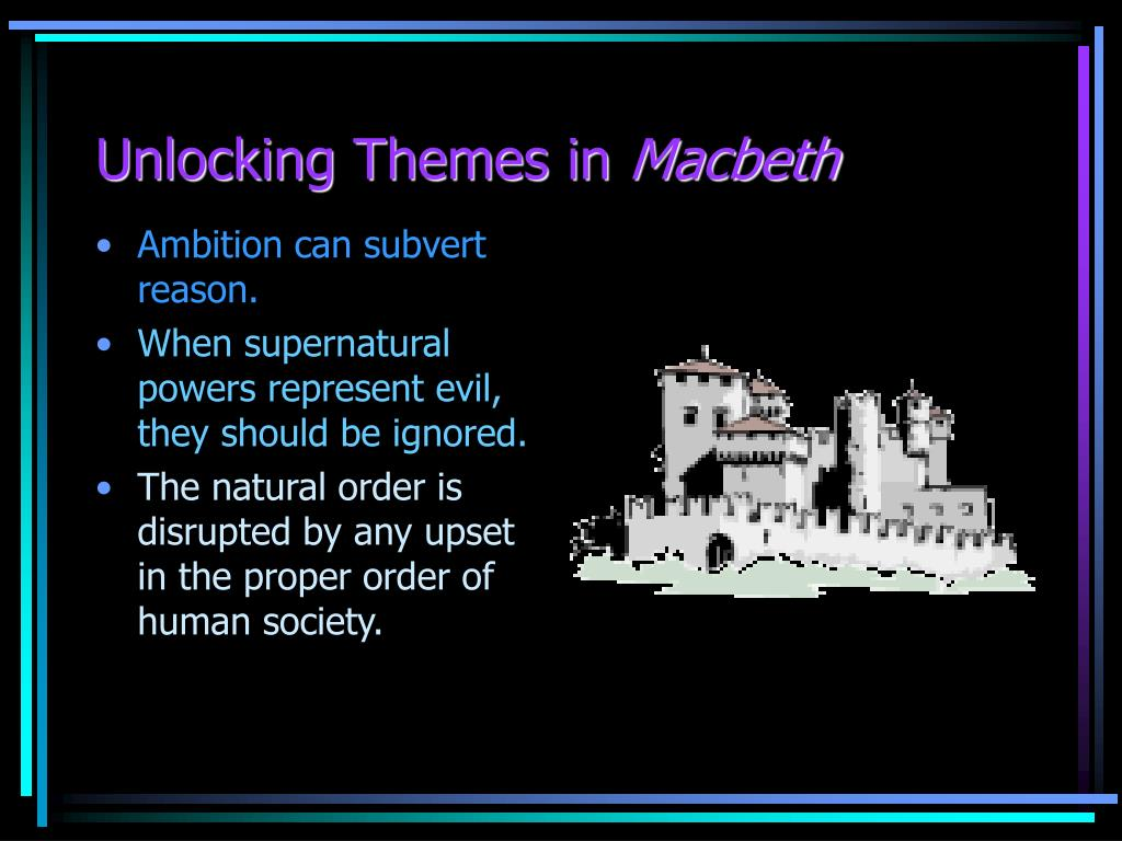unlocking themes in macbeth l.