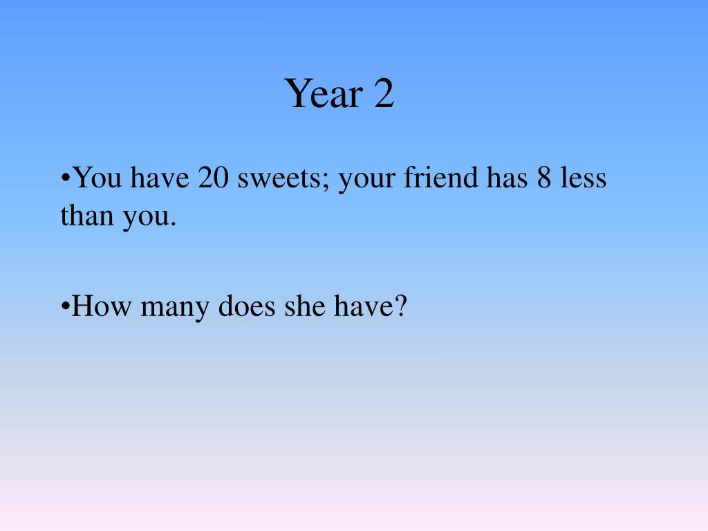 year 2 l.