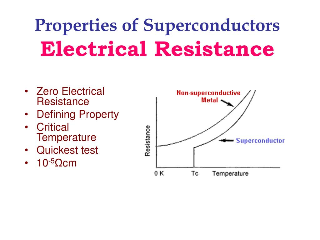 electrical resistance Electrical resistance in metals is caused by the temperature of the metal or impurities in the metal both increases in temperature and higher levels of impurities impede the flow of.