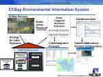 ccbay environmental information system