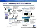sensor anomaly detection scenario