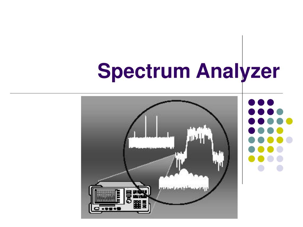 spectrum analyzer l.