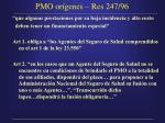 pmo or genes res 247 96