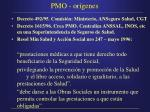 pmo or genes