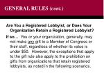 general rules cont8