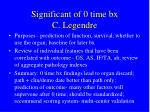 significant of 0 time bx c legendre