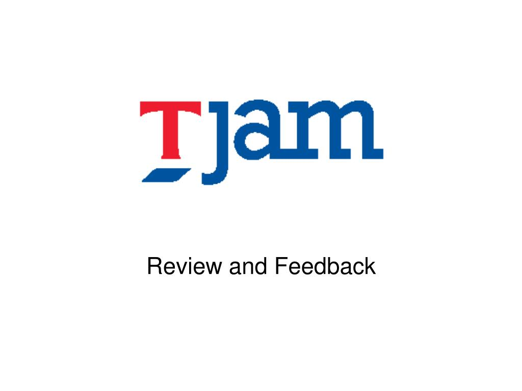 review and feedback l.