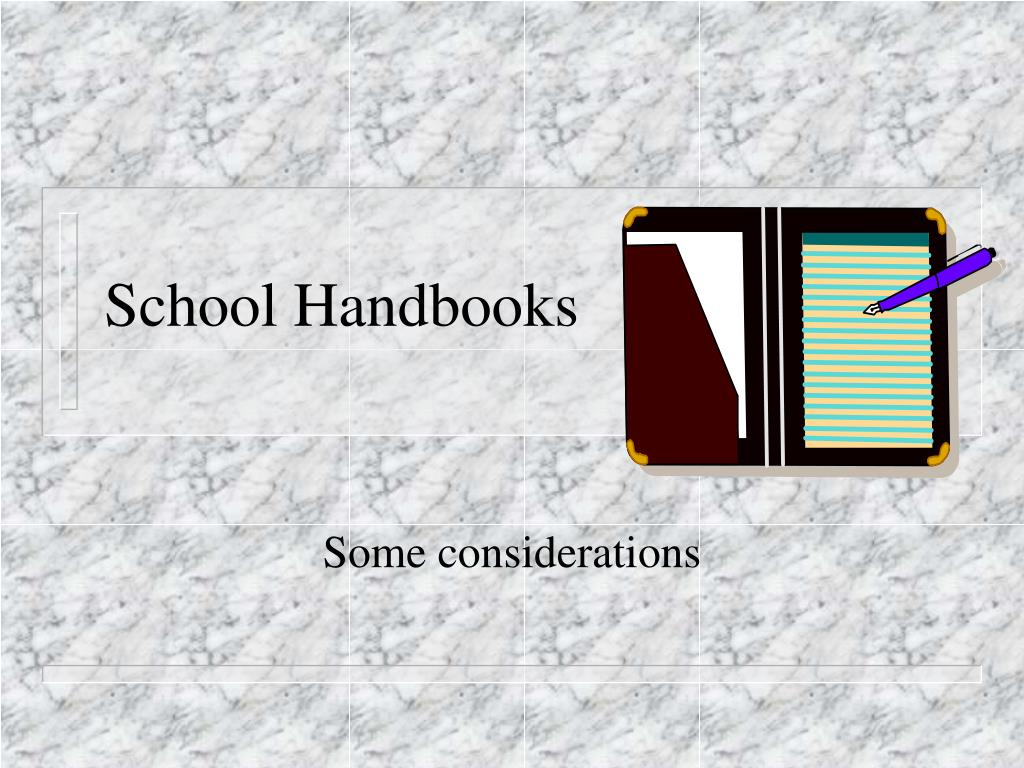 school handbooks l.