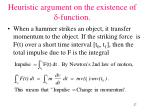 heuristic argument on the existence of function