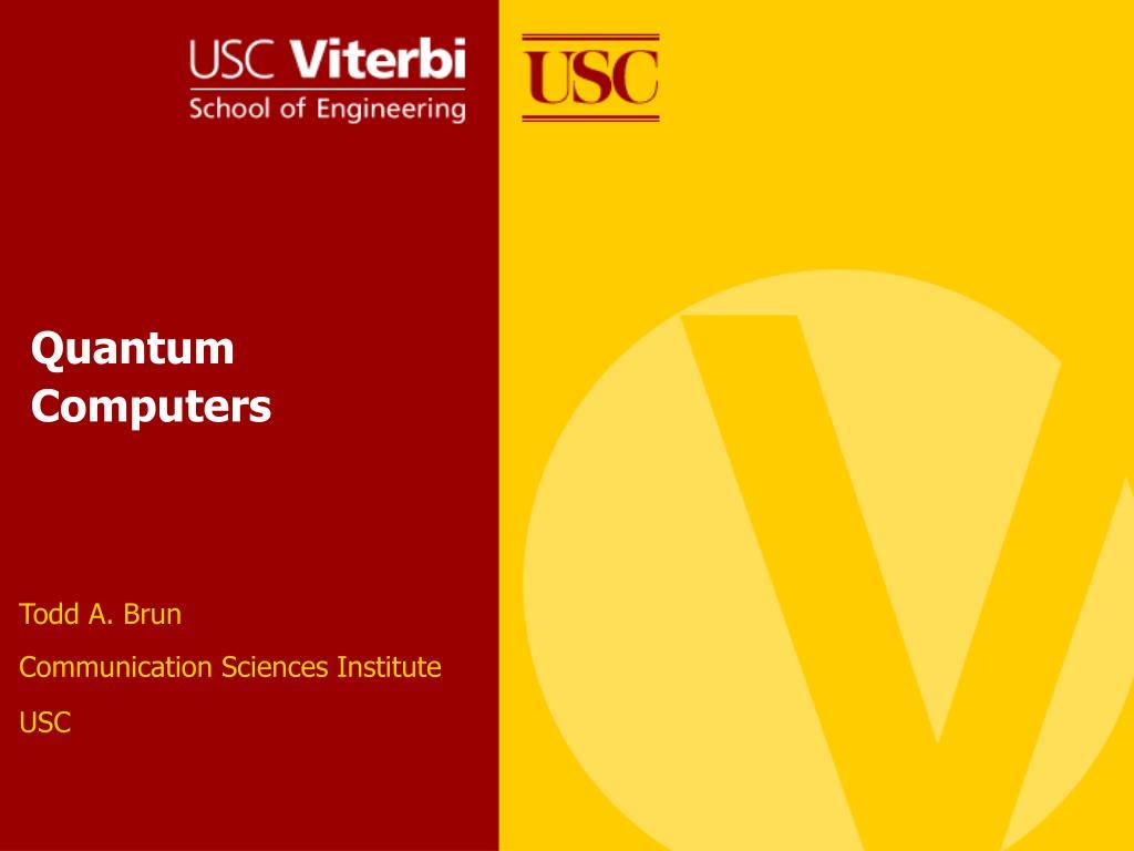 quantum computers l.