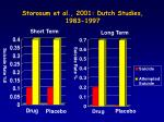 storosum et al 2001 dutch studies 1983 1997