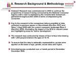 a research background methodology