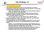 key findings vi