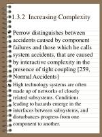 1 3 2 increasing complexity