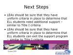 next steps38