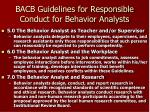 bacb guidelines for responsible conduct for behavior analysts5