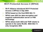 wi fi protected access 2 wpa2