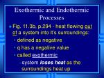 exothermic and endothermic processes9