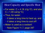 heat capacity and specific heat13