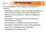 hr workstream
