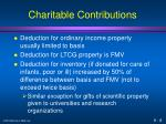 charitable contributions8
