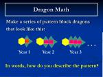 dragon math