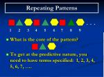 repeating patterns23