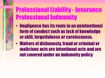 professional liability insurance professional indemnity37