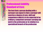 professional liability standard of care24