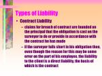 types of liability14