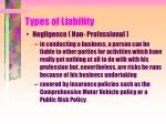 types of liability17