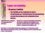 types of liability9