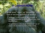 a common home