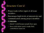 structure cont d10