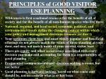 principles of good visitor use planning4
