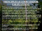 principles of good visitor use planning6