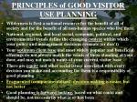principles of good visitor use planning7