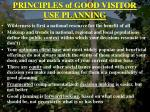 principles of good visitor use planning78