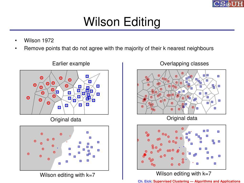Wilson Editing