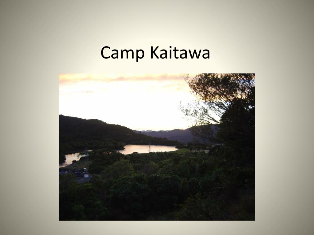 camp kaitawa l.